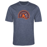 Performance Navy Heather Contender Tee-Sunbird Head