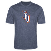 Performance Navy Heather Contender Tee-Angled FPU