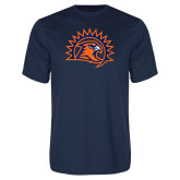Performance Navy Tee-Sunbird Head