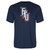 Performance Navy Tee-Angled FPU