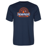 Performance Navy Tee-Fresno Pacific Baseball