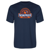 Performance Navy Tee-Fresno Pacific Soccer