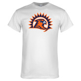 White T Shirt-Sunbird Head