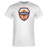 White T Shirt-Sunbirds Soccer Shield