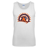 White Tank Top-Sunbird Head