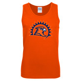 Orange Tank Top-Sunbird Head
