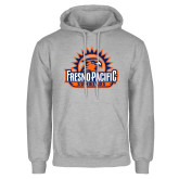 Grey Fleece Hoodie-Fresno Pacific Sunbirds Stacked
