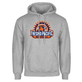 Grey Fleece Hoodie-Fresno Pacific Baseball
