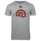 Adidas Sport Grey Logo T Shirt-Sunbird Head