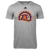 Adidas Climalite Sport Grey Ultimate Performance Tee-Sunbird Head