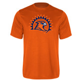 Performance Orange Tee-Sunbird Head