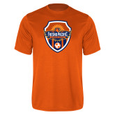 Performance Orange Tee-Sunbirds Soccer Shield