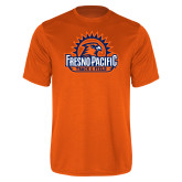 Performance Orange Tee-Fresno Pacific Track & Field