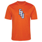 Performance Orange Heather Contender Tee-Angled FPU