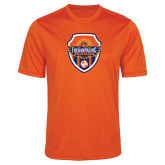 Performance Orange Heather Contender Tee-Sunbirds Soccer Shield