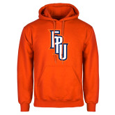 Orange Fleece Hoodie-Angled FPU