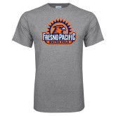 Grey T Shirt-Fresno Pacific Water Polo
