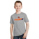 Youth Grey T-Shirt-#TEAMFPU