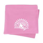 Pink Sweatshirt Blanket-Sunbird Head