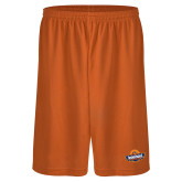 Performance Classic Orange 9 Inch Short-Official Logo