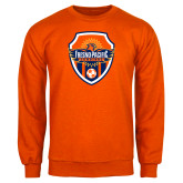 Orange Fleece Crew-Sunbirds Soccer Shield