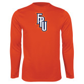 Performance Orange Longsleeve Shirt-Angled FPU