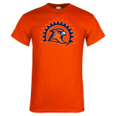 Orange T Shirt-Sunbird Head