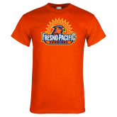 Orange T Shirt-Fresno Pacific Sunbirds Stacked