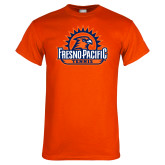 Orange T Shirt-Fresno Pacific Tennis