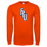 Orange Long Sleeve T Shirt-Angled FPU