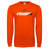 Orange Long Sleeve T Shirt-#TEAMFPU