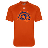 Under Armour Orange Tech Tee-Sunbird Head