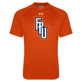Under Armour Orange Tech Tee-Angled FPU