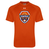 Under Armour Orange Tech Tee-Sunbirds Soccer Shield