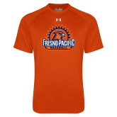 Under Armour Orange Tech Tee-Fresno Pacific Baseball