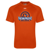 Under Armour Orange Tech Tee-Fresno Pacific Cross Country