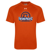 Under Armour Orange Tech Tee-Fresno Pacific Swimming
