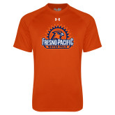 Under Armour Orange Tech Tee-Fresno Pacific Water Polo