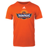 Adidas Orange Logo T Shirt-Official Logo