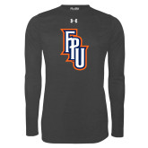 Under Armour Carbon Heather Long Sleeve Tech Tee-Angled FPU