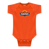 Orange Infant Onesie-Official Logo