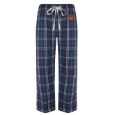 Navy/White Flannel Pajama Pant-Sunbird Head