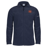 Columbia Full Zip Navy Fleece Jacket-Sunbird Head