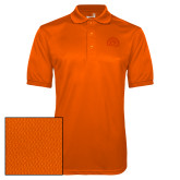 Orange Dry Mesh Polo-Sunbird Head