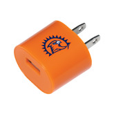 Orange USB A/C Adapter-Sunbird Head