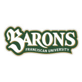 Large Decal-Barons - Franciscan University, 12 in Wide