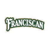 Small Decal-Arched Franciscan, 6 in Wide