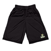 Performance Black 9 Inch Short w/Pockets-Barons - Franciscan University - Official Logo