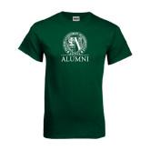 Dark Green T Shirt-Alumni - Seal