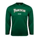 Syntrel Performance Dark Green Longsleeve Shirt-Dad